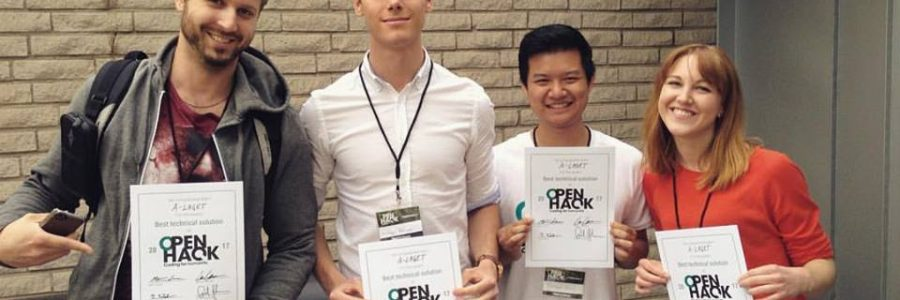 Best Technical Solution – OpenHack 2017